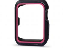 Husa protectie Apple Watch 42mm, Seria 3, 2 si 1, carcasa si