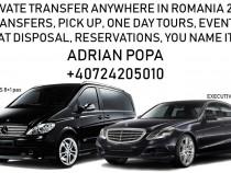 Transfer / Preluare / Transport, Bucuresti - Otopeni si retu