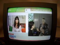 Kennex, germania, televizor argintiu, tub diagonala 35cm