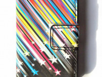 Husa flip Samsung Galaxy Ace 3, S7272, carcasa protectie tel
