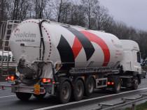 Sofer bulk cement truck pentru Belgia imediat