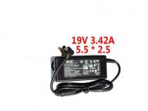 Incarcator Laptop Compatibil Asus 19V 3.42A Amperi 5.5 x 2.5
