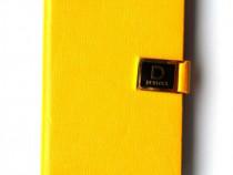 Husa flip iPhone 5 5s, carcasa protectie telefon, tip portof