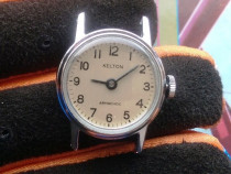 Ceas vechi dama KELTON Armachoc dustproof shock resistant,