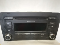 Radio cd player audi a3 8p