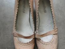 Pantofi din piele naturala windfeld, marime 38