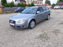 Audi A4 - 1,9 TDI, Dublu-clima, Jante aliaj, Carte service