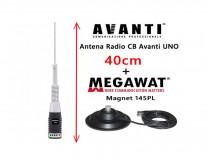 Set antena statie cb avanti uno 40cm + magnet megawat 145pl