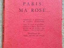 Paris, ma rose..., Nazim Hikmet, 1961