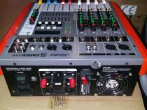 Mixer amplificat 2x200w