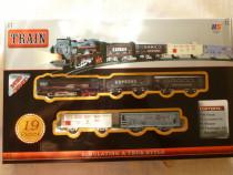 Trenulet clasic pesine,cubaterii,sunete,lumini,nou,ramburs