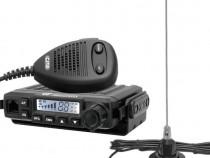 Statie Radio CB CRT Millenium +Antena CB Sonar 825 Magnetica