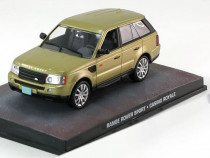 Macheta Range Rover Sport 2002- James Bond 007 - Altaya 1/43