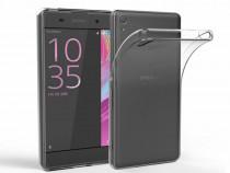 Husa Silicon Sony Xperia Z5+ Clear Grey Ultra Thin NOU