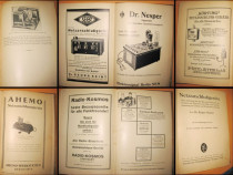 Manual Aparate Electro-Tehnice vechi Germania 1927. Telegraf