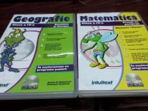 CD Educativ Matematica si Geografie Cls.a-IV-a