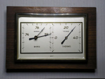 Baromeru - Termometru Vintage Gischard NR5100 Germany