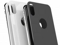 * Folii sticla spate iphone 7+/8+.X/10-7/8 /alb/negru*s6 etc