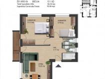 Apartament 3 camere, Finalizat, Zona Metarlugiei