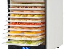 Deshidrator de alimente cu 10 tăvi, 550 W, alb(50507)