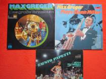 Vinil/vinyl jazz Max Greger + Fausto Papetti -Sax - 4LP