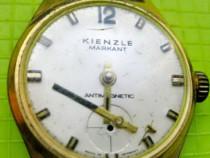 9358-Kienzle Markant ceas vechi mana barbat nefunctional