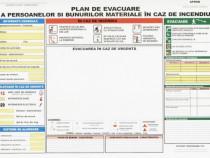 Plan de evacuare tipizat