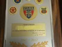 CSA Steaua Bucuresti - Placheta tematica sport - 2012