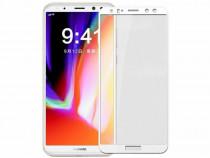 Folie Sticla Tempered Glass Huawei Mate 10 Lite White 5D Ful