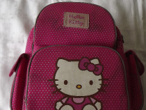 Ghiozdan rucsac scoala Hello Kitty roz spate ergonomic