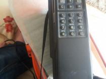 Vintage telefon auto gsm sim portabil mizeu colectie grundig