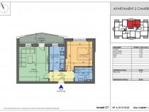 Apartament 2 camere Apollo Residence