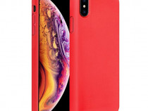 Husa Telefon Silicon Apple iPhone X iPhone XS Red Candy NOU