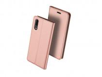 Husa Telefon Flip Book Huawei P20 Rose Gold PRODUS NOU