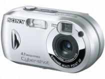 Sony Cyber-shot DSC-P43 4.1MP Digital Camera - Silver -JAPAN