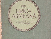 Din lirica armeană