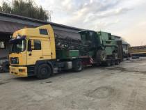 Efectuam transport agabaritic cu trailere