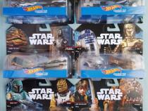 Set de 12 machete Hot Wheels cu Star Wars