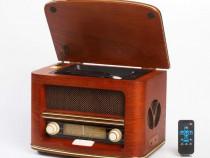 Radio Retro Camry cu CD Player, MP3, USB, Functie Inregistra