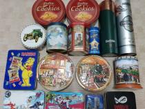 16 cutii metalice diverse