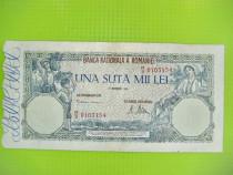100 000 lei-20 Decembrie 1945-Bancnota Romania regalista.