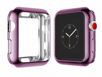 Carcasa silicon Apple Watch 42mm, husa protectie spate margi
