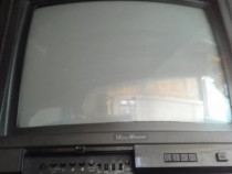 Televizor Megavision color + telecomanda originala