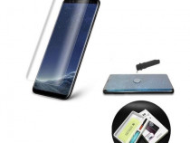 Folie Sticla Tempered Glass Samsung S7 Edge g935 UV Full Glu