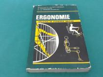 Ergonomie aplicații în domeniul militar/ popa gheorghe/ 1981