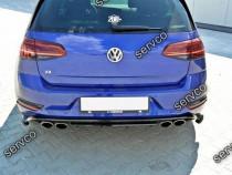 Prelungire ornament bara spate Volkswagen Golf 7 R FL v1