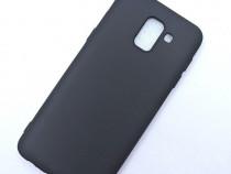 Samsung J4 J6 J4+ J6+ Husa Slim Din Silicon Mata Neagra