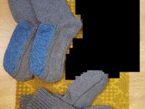 Ciorapi de casa tip papucei,din PNA,NOI,crosetati manual