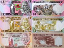 Lot 18 bancnote ZAMBIA 1980-2015 - UNC