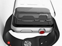 Carcasa silicon Apple Watch 42mm, protectie margini ecran sm
